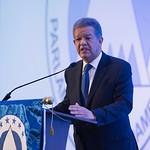 Leonel Fernández dicta conferencia magistral en foro del Parlamento Centroamericano