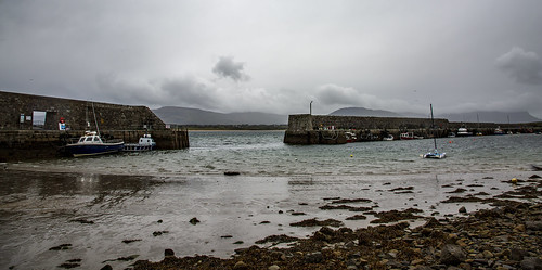 Harbour Mullaghmore Ireland 11 October 2018