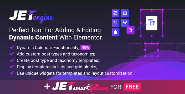 JetEngine v2.0.3 - Adding & Editing Dynamic Content