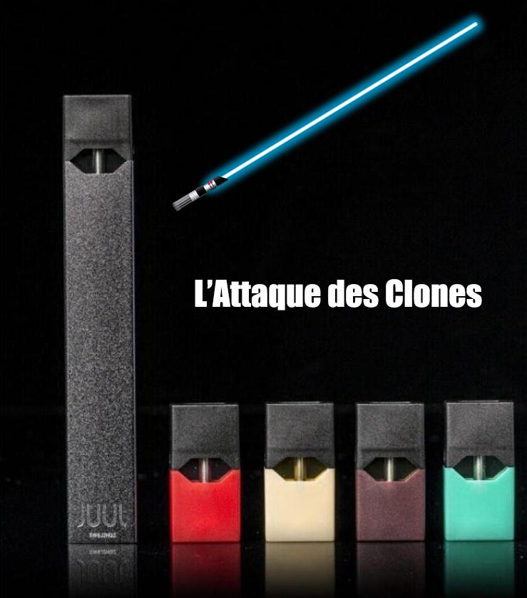 Juul Clone wars