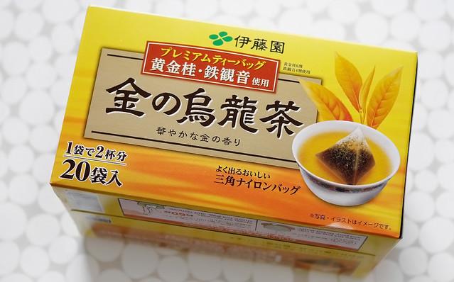 伊藤園 お〜いお茶 プレミアムティーバッグ 金の烏龍茶