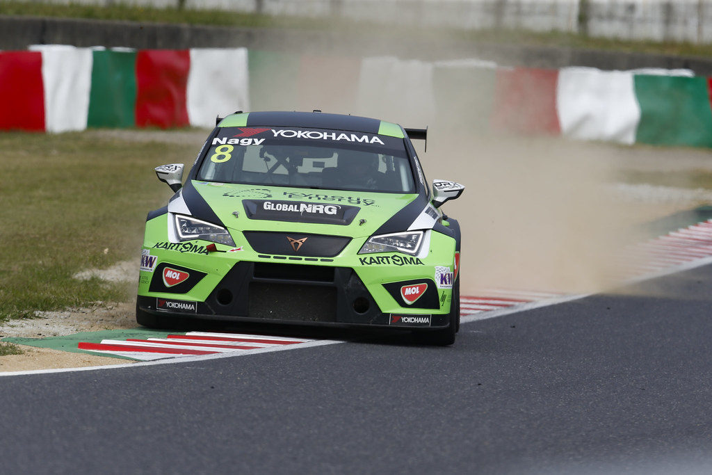 08 NAGY Norbert, (hun), Seat Cupra TCR team Zengo Motorsport, action during the 2018 FIA WTCR World Touring Car cup of Japan, at Suzuka from october 26 to 28 - Photo Clement Marin / DPPI