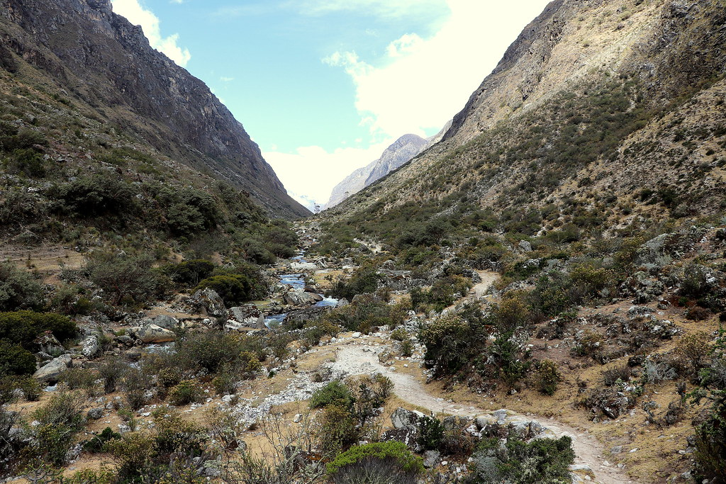 J7 : 24 septembre 2018 : Trek de Santa Cruz 1er jour