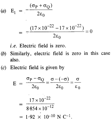 NCERT Solutions for Class 12 physics Chapter 1.22