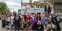 YMPST waggon play, 16 September 2018 - group photo 1