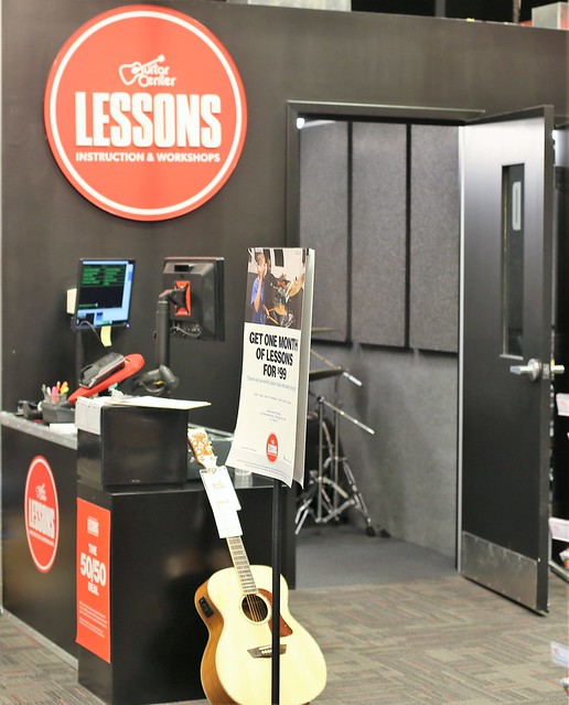 Music Lessons at Guitar Center