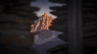 _DSC9823 Chalets de Voyron - Vue sur la Meije -  Parc national des Écrins - Hautes-Alpes / France