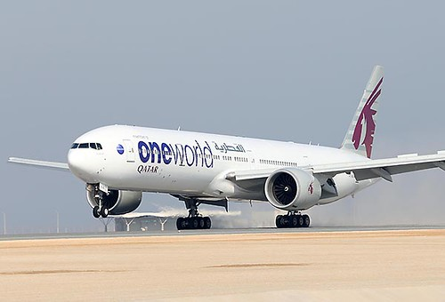 Qatar Airways B777-300ER oneworld (Qatar Airways)