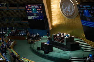 Hight Level Plenary Meeting of the UN General Assembly-Nelson Mandela Peace Summit. Sep.24/2018