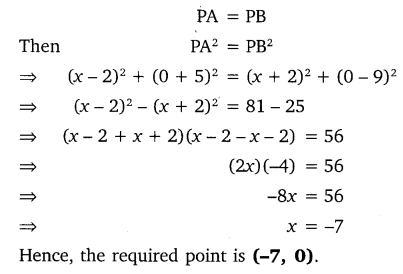 NCERT Solutions for Class 10 Maths Chapter 7 Coordinate Geometry 11