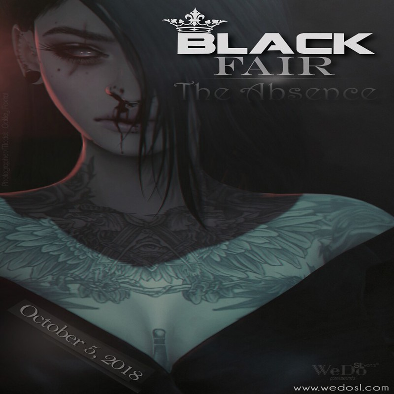 Black Fair The Abscence - Poster