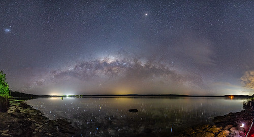 The sky over Swan Lake