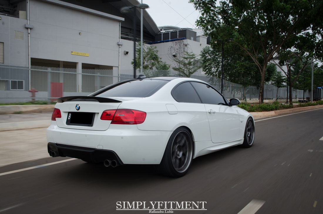 AFI'S BMW E92 SITTING ON KW SUSPENSION AND ADV.1 WHEELS