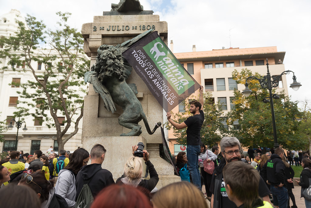Manifestación Antitaurina Pilars 2018