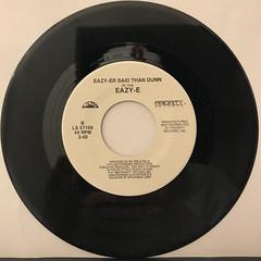 EAZY-E:WE WANT EAZY(RECORD SIDE-B)