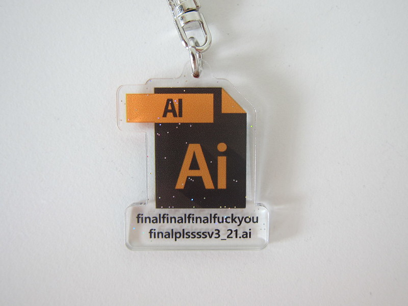 Illustrator (Ai) Keychain