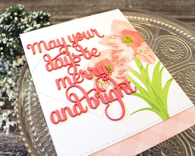 LizzieJones_PapertreyInk_October2018_BloomingAmaryllis_SayingItSimply_Merry&BrightCard3