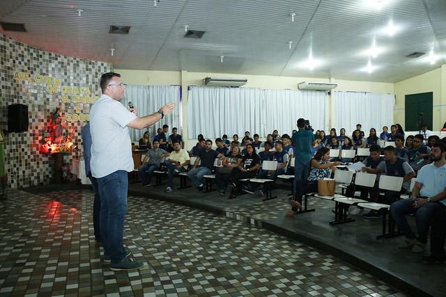 10.10.2018 Lançamento Projeto Jovem Empreendedor