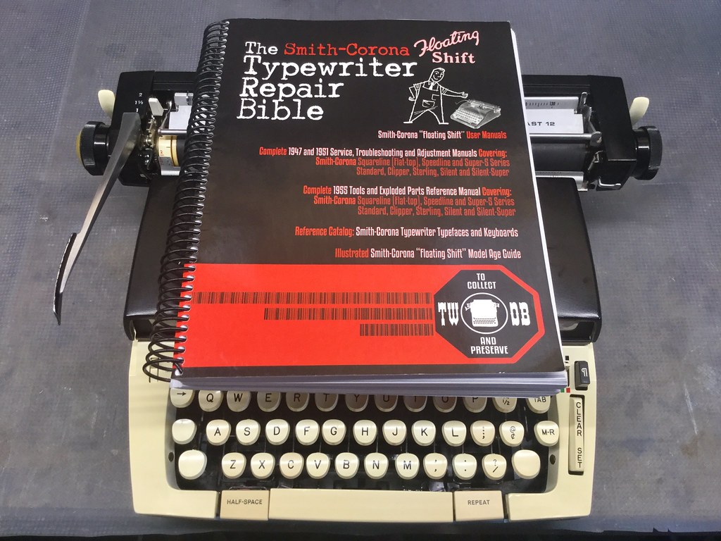 Sears Forecast 12 and Munk's Typewriter Repair Bible