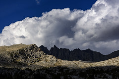 Gloomy Giants over Bishop Pass