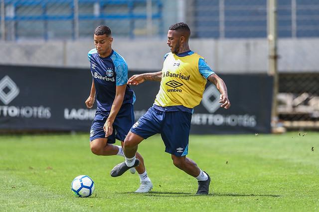 Treino Grêmio 19/10/2018