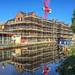 Construction reflecting - 'The Bridges' development, Macclesfield