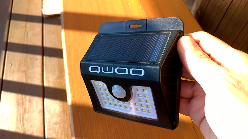QWOO ソーラーライト 開封レビュー (7)
