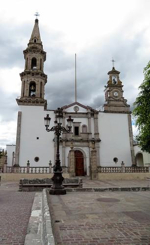 Parroquia de la Inmaculada Concepción, fue construida en 1837, durante la guerra cristera fue utilizada como cuartel. #sandiegodealejandria #jalisco #mexico