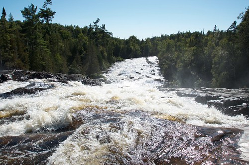 Lake Superior Park- Sand river falls
