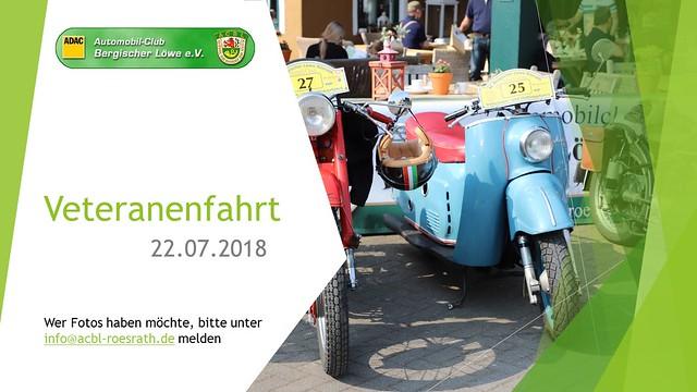"""20. Oldtimer- und Veteranenfahrt """"Rösrath Classic"""""""