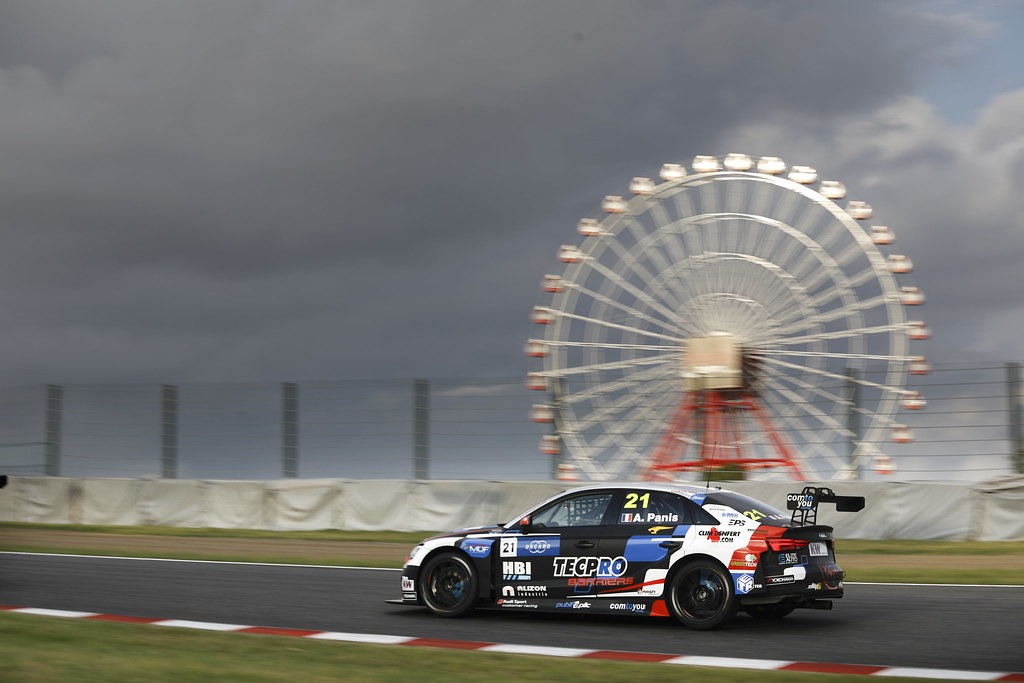 21 PANIS Aurelien, (fra), Audi RS3 LMS TCR team Comtoyou Racing, action during the 2018 FIA WTCR World Touring Car cup of Japan, at Suzuka from october 26 to 28 - Photo Francois Flamand / DPPI