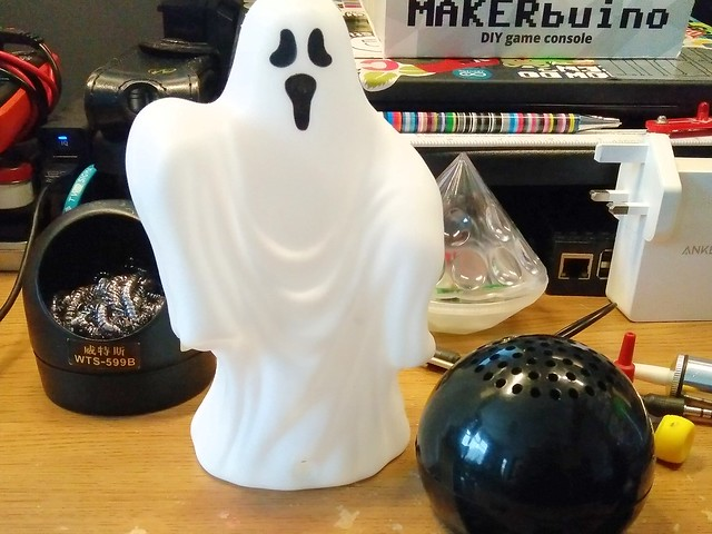 Ghost toy and speaker