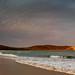 Sunlit headland by Rod Burgess