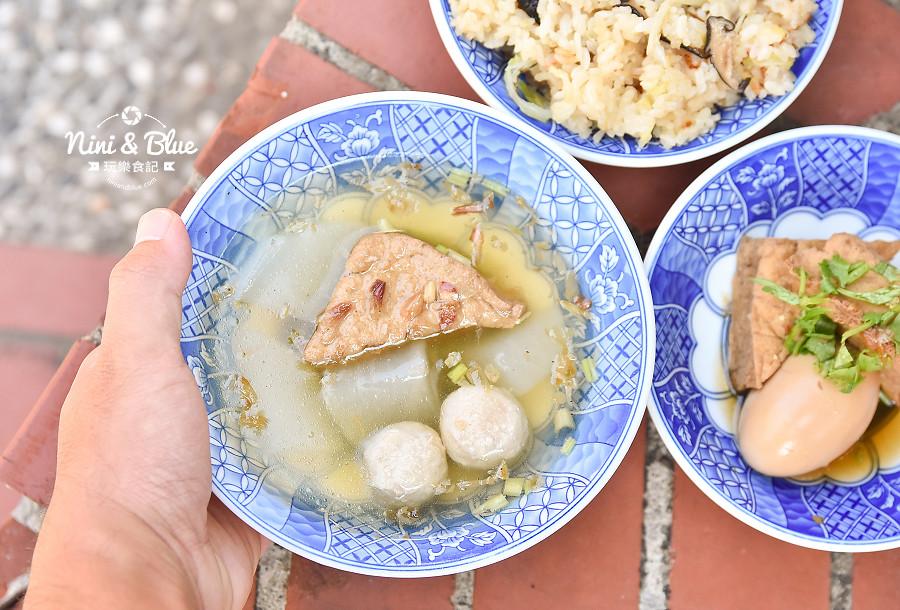 港心麵線糊 伸港 鹿港 彰化美食 高麗菜飯21
