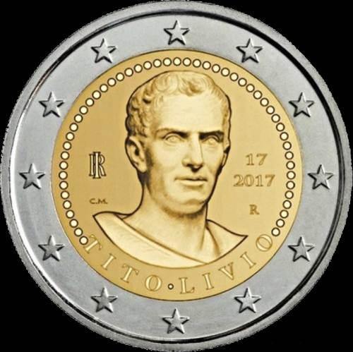 2 Euro Taliansko 2017, Titus Livius