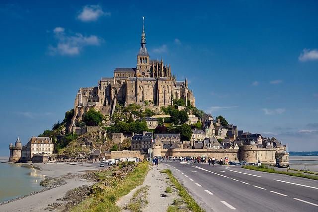 FRA-Manche-Mont Saint-Michel, Nikon D300, AF-S DX VR Zoom-Nikkor 16-85mm f/3.5-5.6G ED