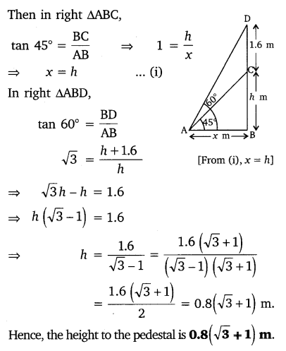 NCERT Solutions for Class 10 Maths Chapter 9 Some Applications of Trigonometry 11