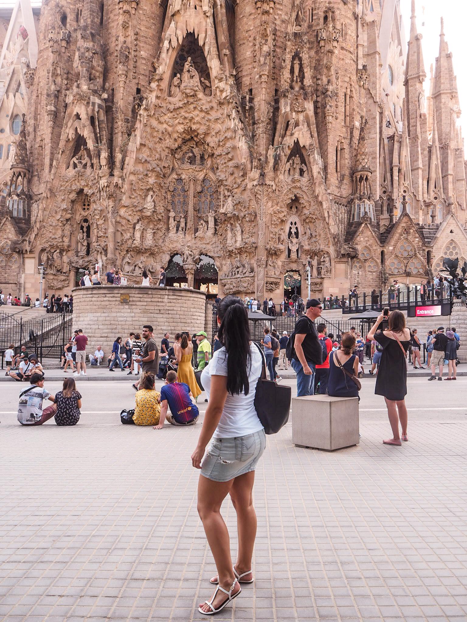 Sagrada Familia kokemukset