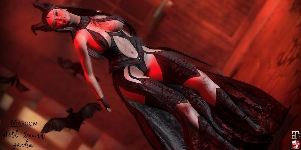 [[ Masoom ]] Hell bound Gatcha @ Arcade
