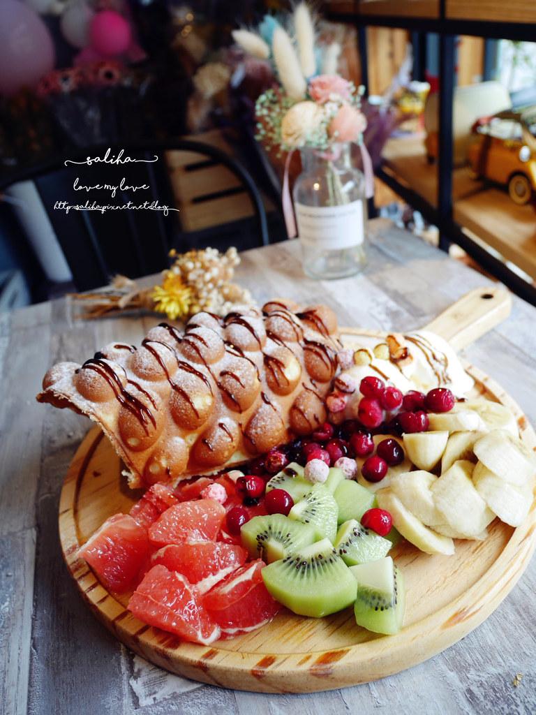 新店不限時乾燥花下午茶咖啡廳咖啡館推薦花草慢食光 (2)