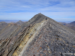 Summit ridge of Hope Peak