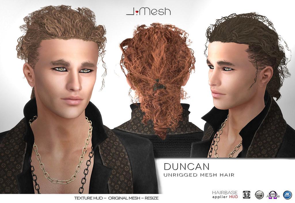Duncan Hair - TeleportHub.com Live!