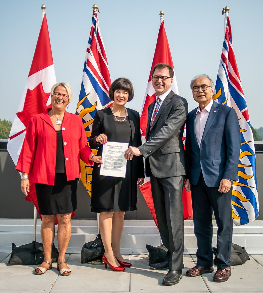 governments of canada and british columbia sign agreement