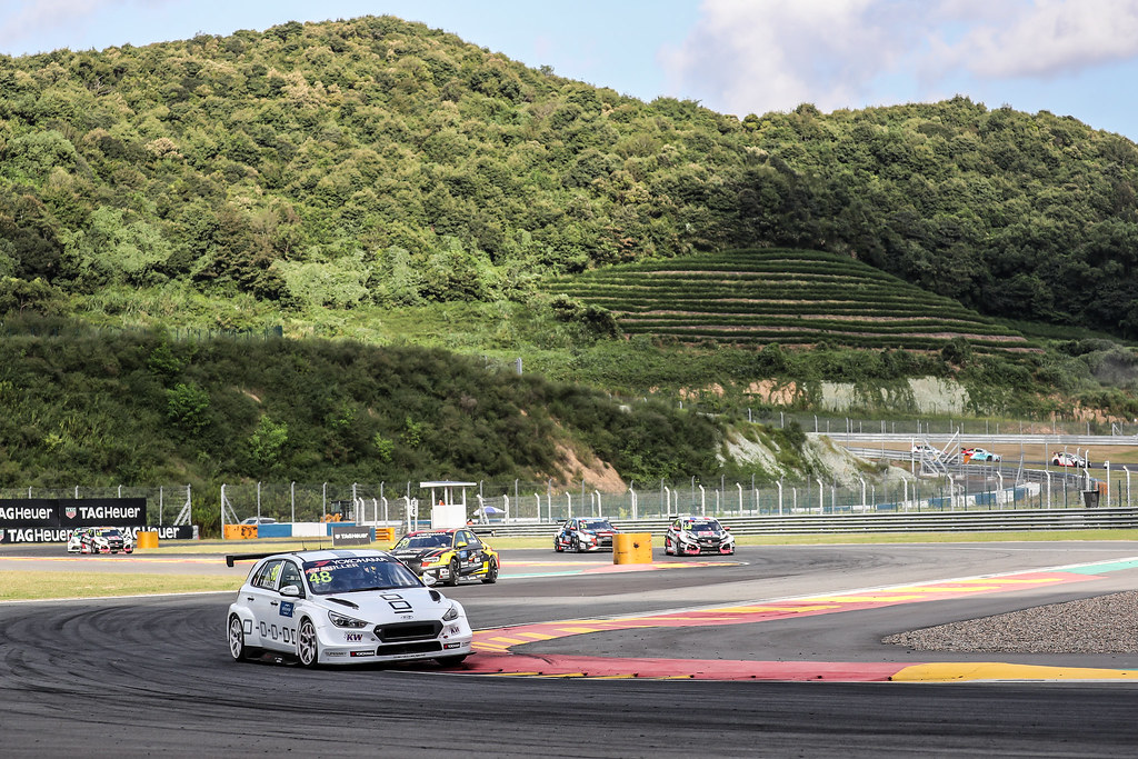 48 MULLER Yvan, (fra), Hyundai i30 N TCR team Yvan Muller Racing, action during the 2018 FIA WTCR World Touring Car cup of China, at Ningbo  from September 28 to 30 - Photo Marc de Mattia / DPPI