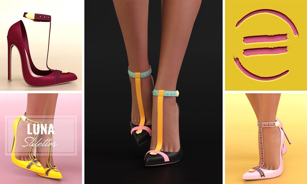 EQUAL - Luna Stilettos - TeleportHub.com Live!