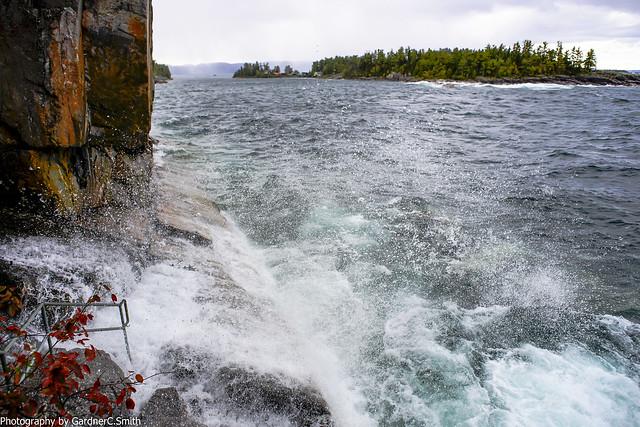 Agawa Rock Pictograph, Lake Superior Provincial Park