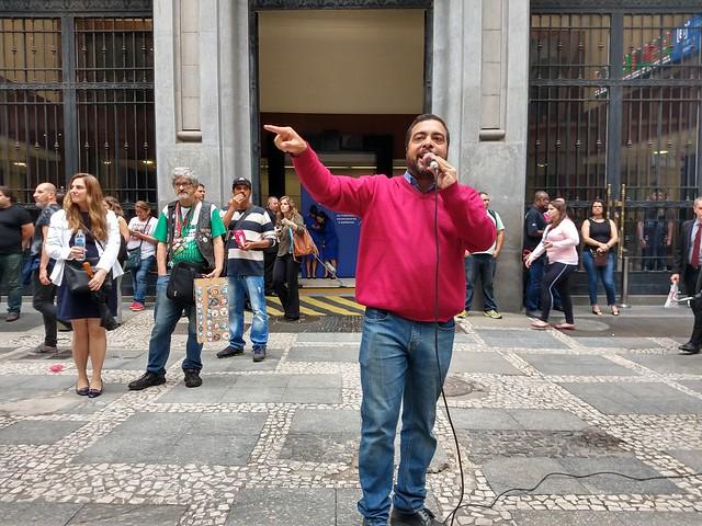 19.10.2018 - Ato contra a Privatização da CESP