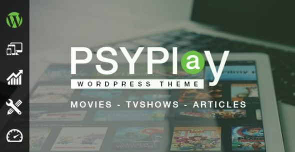 Psyplay v1.2.5 - Movies And TV Series WordPress Themes