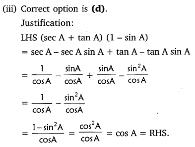 NCERT Solutions for Class 10 Maths Chapter 8 Introduction to Trigonometry 39