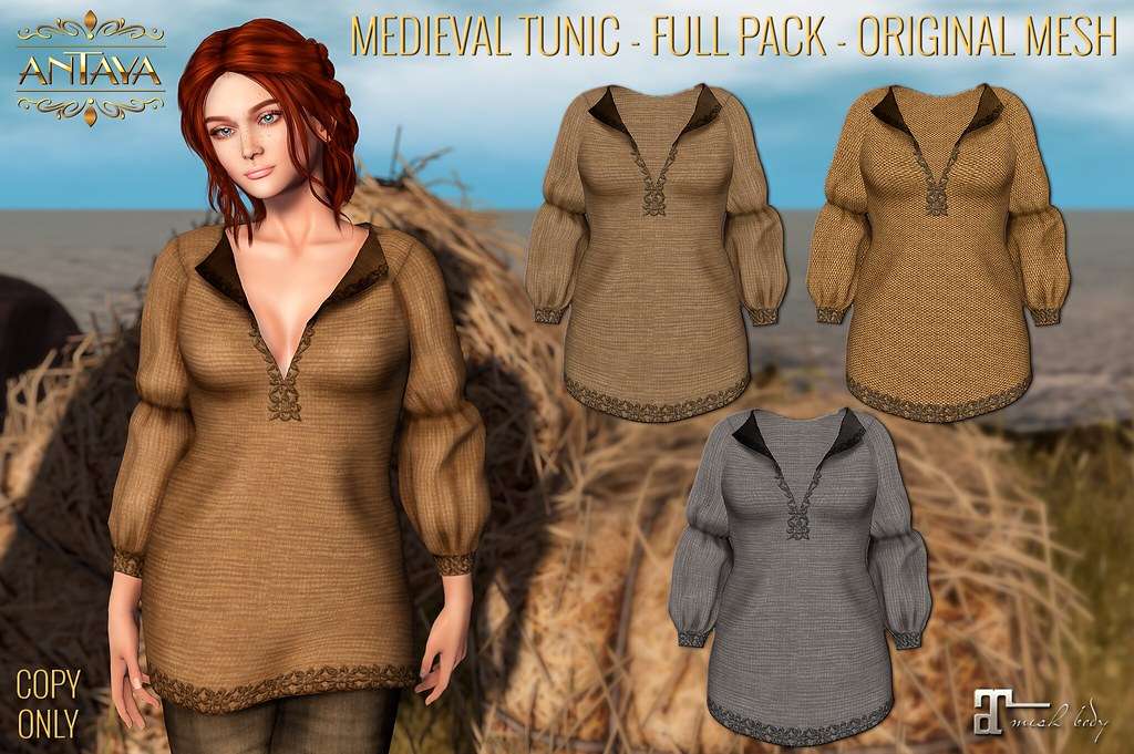 :: ANTAYA :: Medieval tunic FULL PACK - TeleportHub.com Live!